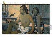 Eiaha Ohipa Or Tahitians In A Room Carry-all Pouch