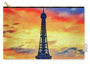 Eifel Tower In Paris Carry-all Pouch