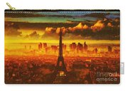 Eifel Tower2 Fragmented Carry-all Pouch