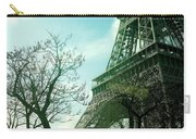 Eifell Tower View From Taxi II. Carry-all Pouch