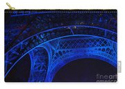 Eiffel Blue Carry-all Pouch