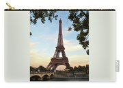 Eiffel On The Seine Carry-all Pouch