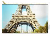Eiffel Tower Portrait Carry-all Pouch