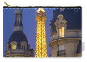 Eiffel Tower From Passy Carry-all Pouch by Brian Jannsen