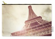 Eiffel Tower In Sunlight Carry-all Pouch