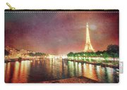 Eiffel Tower Reflections Carry-all Pouch