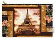 Eiffel Tower Roses Dance Carry-all Pouch