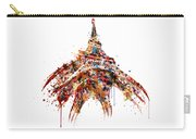Eiffel Tower Watercolor Carry-all Pouch