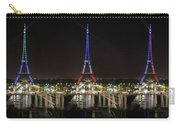 Eiffel Towers Carry-all Pouch
