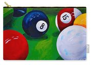 Eight Ball Corner Pocket  Carry-all Pouch