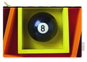 Eight Ball In Box Carry-all Pouch