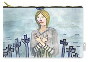Eight Of Swords Illustrated Carry-all Pouch