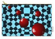 Eight Red Balls Carry-all Pouch