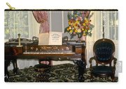Eighteenth Century Piano And Parlor Carry-all Pouch