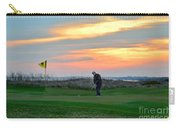 Eighteenth Green At Sunset Carry-all Pouch