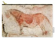 Ekain Cave Horse 2 Carry-all Pouch