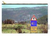 El Camino De Santiago De Compostela, Spain, Sign Carry-all Pouch