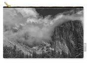 El Capitan And The Stormy Clouds Carry-all Pouch