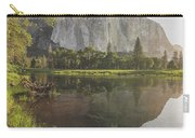 El Capitan In Reflection Carry-all Pouch