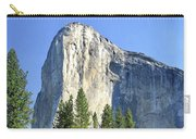 El Capitan Over The Merced River - Yosemite Valley Carry-all Pouch