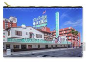 El Cortez Hotel On Fremont Street 2.5 To 1 Ratio Carry-all Pouch