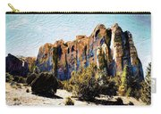 El Morro Cliffs Carry-all Pouch