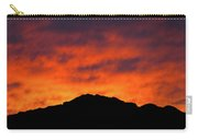 El Paso Fiery Sunset Carry-all Pouch