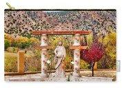 El Santuario De Chimayo Sculpture Garden 3 Carry-all Pouch