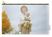 El Santuario De Chimayo Sculpture Garden 5 Carry-all Pouch