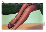 86fe3d6cbbc Elbeo Tights And Stockings - High Heels - Vintage Advertising Poster  Carry-all Pouch