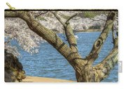 Elder Cherry Tree Carry-all Pouch