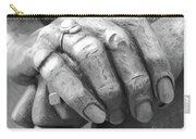 Elderly Hands Carry-all Pouch