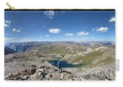 Eldorado Lake Panorama From White Dome - Weminuche Wilderness - Colorado Carry-all Pouch