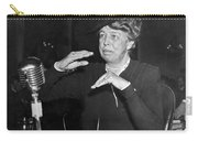 Eleanor Roosevelt At Hearing Carry-all Pouch