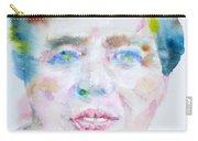 Eleanor Roosevelt - Watercolor Portrait Carry-all Pouch