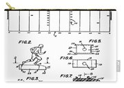 Electric Football Patent 1955 Carry-all Pouch