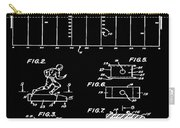 Electric Football Patent 1955 Black Carry-all Pouch