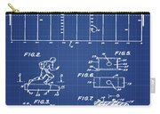 Electric Football Patent 1955 Blueprint Carry-all Pouch