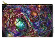 Electric Neon Abstract Carry-all Pouch