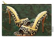 Electric Slide In Leopard Carry-all Pouch