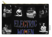 Electric Women Carry-all Pouch