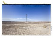 Electricity Pylon In Desert Carry-all Pouch