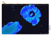 Electrifying Blue Beauty Carry-all Pouch