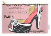 Elegant French Shoes 2 Carry-all Pouch