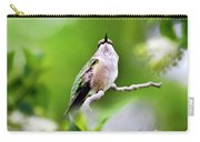 Elegant Hummingbird Carry-all Pouch