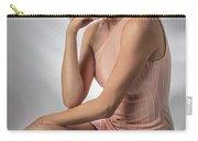 Elegant Johanna In Peach Carry-all Pouch
