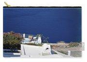 Elegant Restaurant In Santorini, Greece  Carry-all Pouch