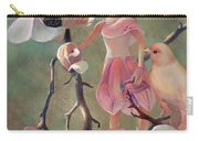 Elena Magnolia Fairy And Bird Carry-all Pouch