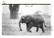 Elephant And Baobab Carry-all Pouch