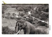 Elephant And Keeper, 1902 Carry-all Pouch